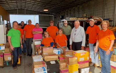 AccuTech & Rotary Club Team-Up to Provide School Supplies